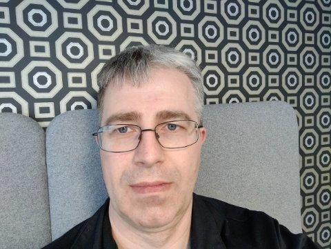 NY LEDER: Bjørn Friborg har overtatt som leder av Kongsberg Bluesklubb.