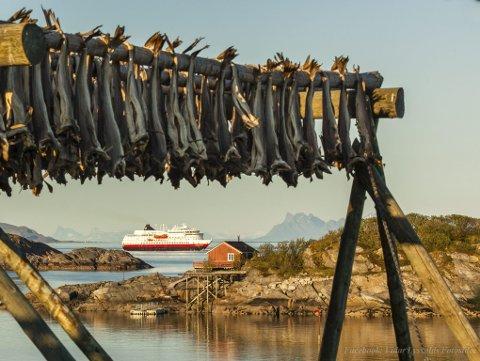 Vinnerbildet: Juryen mente at Vidar Lysvolds bilde av MS Finnmarken var det beste i konkurransen. Foto: Vidar N Lysvold