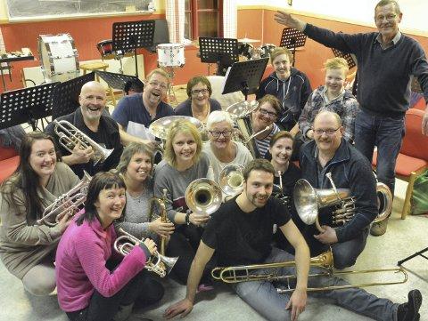 110 ÅR: Stamsund Hornmusikk fyller 110 år i år og det markeres med en festkonsert i Meieriet kultursenter lørdag ettermiddag. Arkivfoto: Geir Inge Winther