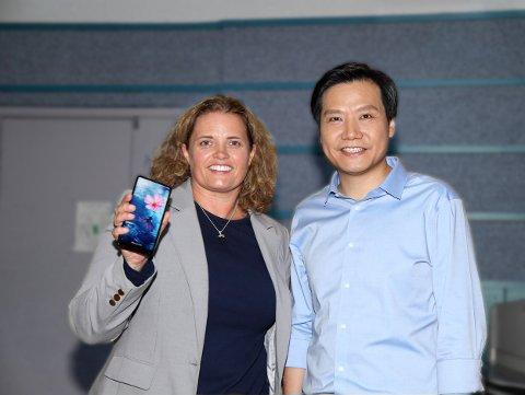 BIG IN ASIA: Laila Danielsen leder Elliptic Labs (ELABS), det norske tech-selskapet som med sin nye teknologi har tatt Asia og Xiaomi-direktør, Lei Jun, med storm.