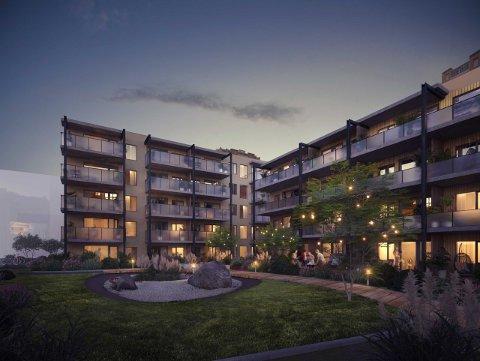 Forhåndsinteressen for dette nybyggprosjektet på Valentinlyst har vært stor, melder Eiendomsmegler1.