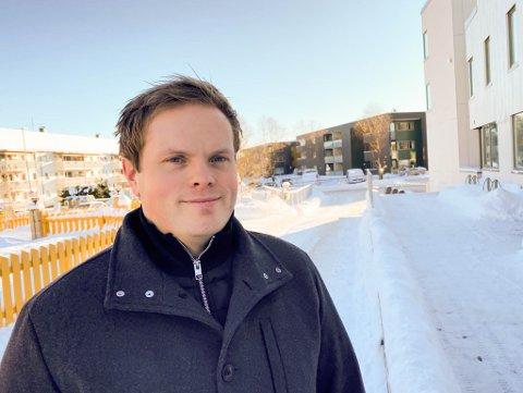Magnus Andreas Johnsen (33) sparer fordi han kan.