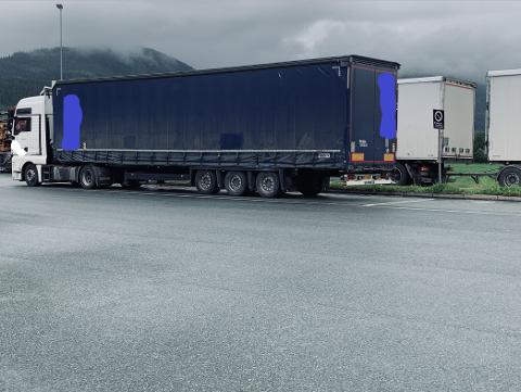 To vogntog fikk kjøreforbud etter kontroll i Malvik i dag.