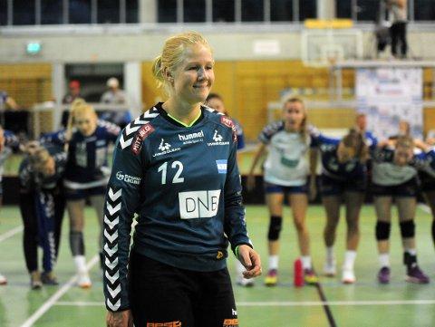 BESTEMANNSPRISEN: Rikke Marie Granlund hadde flere gode redninger i første omgang.