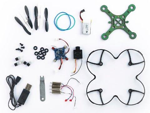 Bygg din egen drone på biblioteket i vinterferien