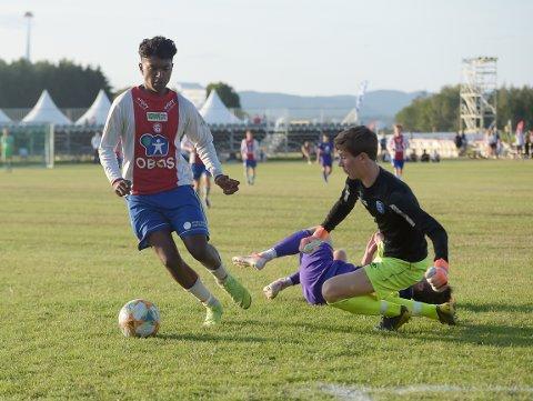 3-0: Nilo Senthurvasan var glitrende da han puttet 3-0.
