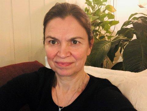 HÅPER HUN ER FRISK: Den treningsglade lokalpolitikeren Hanne Eldby har sjelden følt seg så trøtt og slapp som da hun fikk korona. Etter 11 dager krysser hun fingre for at hun er frisk. Foto: Privat