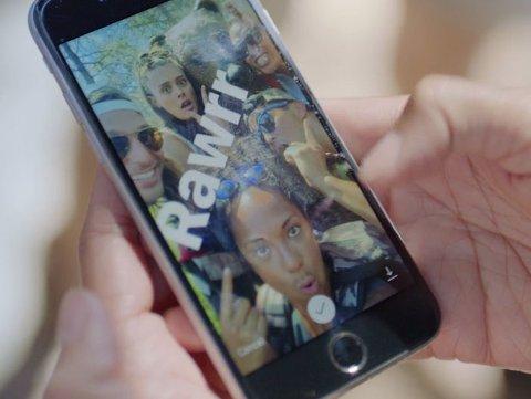 INSTAGRAM STORIES ligner veldig på Snapchat Stories. Foto: Instagram