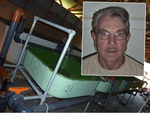 FORSINKET: Harald Olsborgs lakseklekkeri i Oteren ble forsinket flere uker etter leveringstrøbbel. Bring beklager.