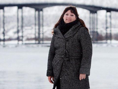 RUNDTUR: Tone Marie Myklevoll vil besøke hjemmetjenestens brukere for å lære mer om den økonomiske situasjonen.