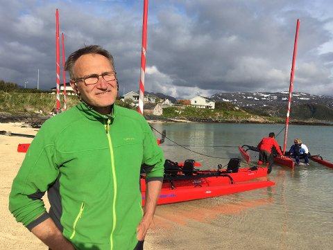 Olivier Pitras, eventyreren som fant ro til å starte business på Sommarøy