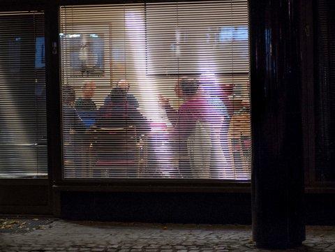 Ved 21-tida onsdag kveld var de fire partiene enige om den politiske platformen. Foto: Asbjørn Risbakken