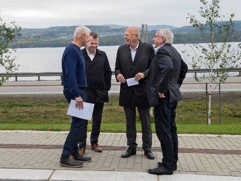 UTSPILL: Ordførerne i Hamar, Lillehammer, Gjøvik og Elverum mener framtidens sykehus må ligge i by