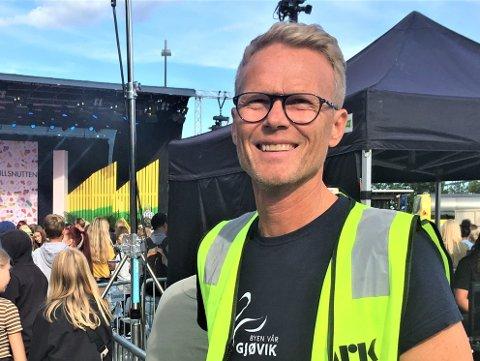 SIER OPP: Dag Arnesen har sagt opp sin stilling som daglig leder for Byen vår Gjøvik.