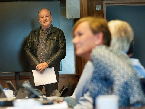 ENSTEMMIG: Eldar Vågan fikk full politisk oppslutning for sine planer for gamle Ihle skole.