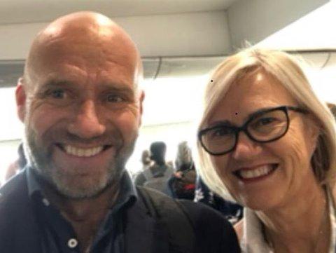 SPESIELT ÅR: For gårdbrukerne Svend og Lill-Ann Østby har 2020 vært et spesielt år med mange nye medarbeidere.