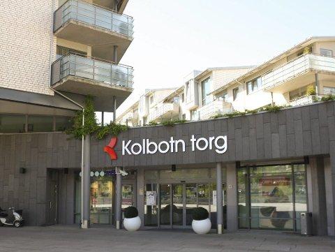 STILLE: I helgen gikk besøkstallet ned med 40 prosent på kjøpesenteret Kolbotn torg.
