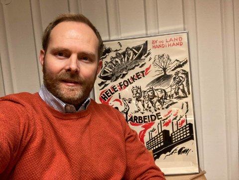 IKKE EIENDOMSSKATT: Gruppeleder i Nordre Follo Ap, Oddbjørn Lager Nesje, er i mot at eiendomsskatt innføres i denne kommunestyreperioden, men mener det må opp til diskusjon i partiene før neste kommunevalg.