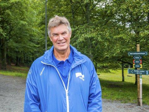 VIL HA FART PÅ LARVIK: Høyres ordførerkandidat Erik Bringedal er klar på at Høyre er partiet som kan få fart på Larvik i denne valgkommentaren.