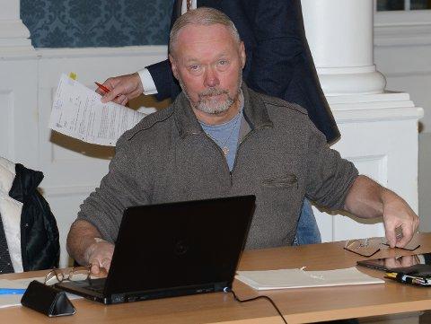 IS I MAGEN: – Det er nødvendig å ha is i magen og også ta strategiske avgjørelser for framtidas Våler som et godt sted å bo, sier Jan Erik Gaup i Frp.