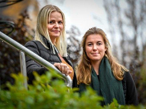 Silje Sørensen (t.v.) og Ingrid Tofte er kliniske ernæringsfysiologer ved Helgelandssykehuset Mo i Rana. De etterlyser et bedre samarbeid med kommunen, som gjør at de slipper å avvise mange som har behovet for hjelp.