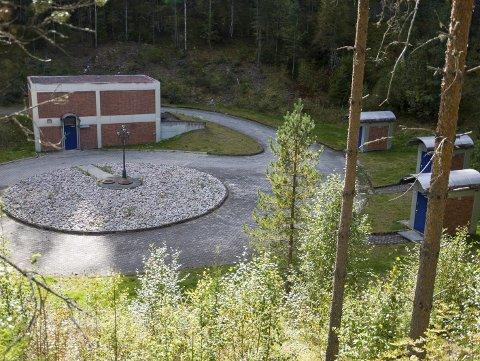 Brønnene i dødisgropa et par kilometer fra vannverket er selve hjertet i Ringerike vannverk.