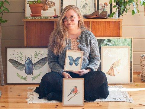 Fanny Storlund (26)er opprinnelig fra Finland, men bor nå i Åsa.