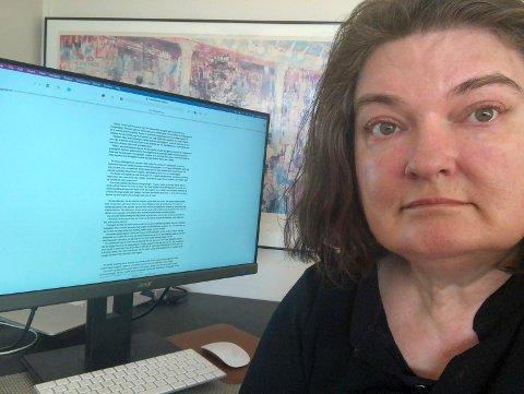 FORFATTER: Ayna Lile skriver bøker om neandertalerjenta Ora.
