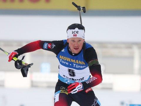 KLAR: Skiskytter Johannes Dale fra Fet ble tirsdag klar for VM i Poklujuka.