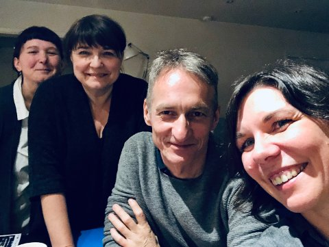 NYBROTT: Polsk Kulturforening med Katarzyna Turbak, Sylwia Skrok, Lech Tomczak og Sylwia Niklas står i spissen for den aller første polske kulturfestivalen i Norge. Den arrangeres i Asker kulturhus over fire dager.