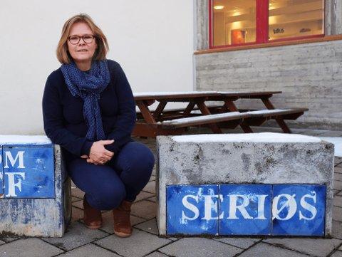 KLAR TENDENS: Rektor Laila Johanne Handelsby ved Røyken videregående skole ser en tendens til større søking til yrkesfag.