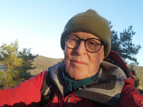 TURENTUSIAST: Alfred Strømen nølte ikke med å takke ja, når han fikk tilbudet om å lede pensjonister ut på tur i skog og mark.
