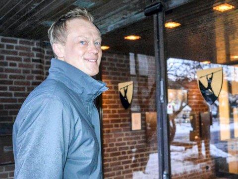 RÅDMANN: Nei, det er ingen konflikt i ledergruppa i rådhuset, mener Øyvind Wøllo.