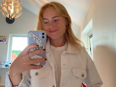 MILITÆRET NESTE: Hanna Celius (19) setter kursen mot Stavanger søndag kveld. Det neste året skal hun nemlig være i militæret.