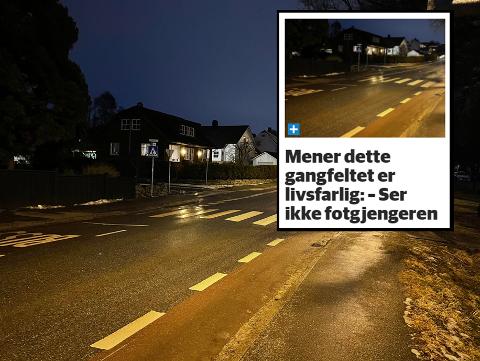 Mandag skrev Sandnesposten om dårlig lys i Postveien. Neste uke kan arbeidet med utbedring starte.