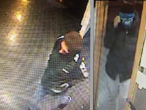 Politiet leter nå etter disse to mennene som er mistenkt for å stå bak ranet av Borg bingo onsdag ettermiddag.