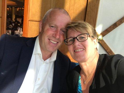 HAR HVERANDRE: Heidi Østlie er takknemlig for at forloveden og døtrene er ute av huset i god behold.