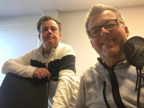 Rino Løkkeberg og Tom Arild Olsen er klare med en ny Hockeypodkast.