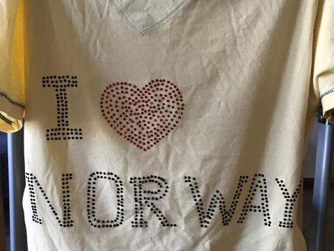 Daniel Andersons t-skjorte.