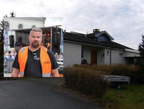 INNBRUDD: Rino Nordahl hadde innbrudd på fredag. Tyven fikk med seg alkohol før alarmen brøt ut.