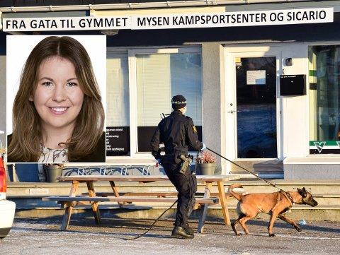 DOPFUNN: 4. februar ble Fra gata til gymmet ransaket av politiet og det ble gjort et dopingfunn. Nå går Maria Moe (KrF) og Barne- og familiedepartementet inn for en lovendring.