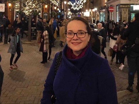 Maja Brkic frå Årdal bur og jobbar i London.