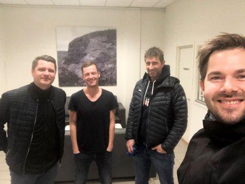 COMEBACK: Podkasten Radl om badl er attende, der Endre Romøren og Morten Sortland har med seg Morten Brandsdal og Ole Gunnar Hunderi som gjester.
