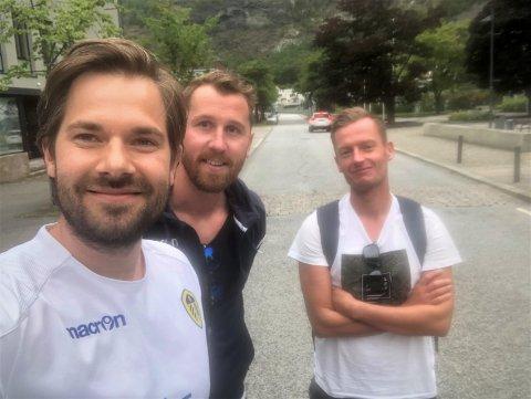 EPISODE 22: Programleiarane Endre Romøren og Morten Sortland har med seg Ørjan Hopen som gjest i den 22. episoden i fotballpodkasten Radl om badl.