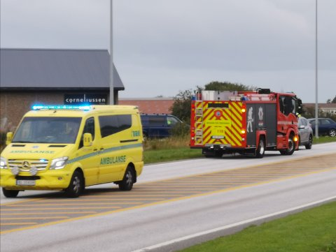 Politiet fikk melding om ulykken 07.51.