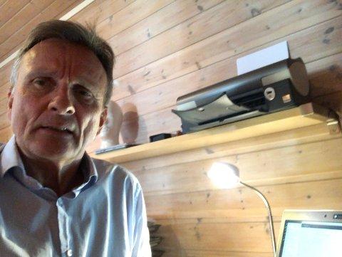 GODE NYHETER: Nav-direktør Terje Tønnessen har flere gode nyheter å komme med når det gjelder ledigheten.