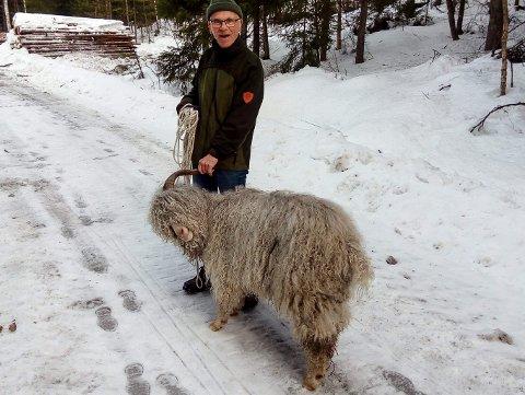GREI BUKK: - Dole fulgte etter meg som en hund, forteller Sverre Heggertveit.