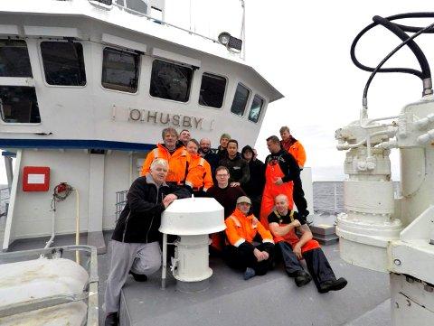 Mannskapet på «O. Husby» fikk heder på Råfisklagets årsmøte.