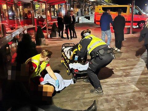 EVAKUERT: Alle på utestedet ble evakuert som følge av hendelsen.