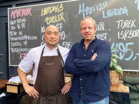 NY ANSETTELSE: Paparazzi og daglig leder, Christian Hjelmtvedt, søker etter en erfaren restaurantsjef med gode kvaliteter.